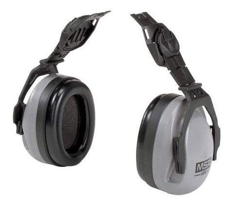 MSA HPE 10061272 Hearing Protection, MSA 10061272 Sound Control HPE Cap Mounted Earmuff, MSA Sound Control HPE earmuffs, Hearing Protection for MSA Slotted caps, Mounted Earmuff for MSA Slotted Caps, MSA Sound Control Earmuff, MSA NRR 27dBA sound control HPE earmuff