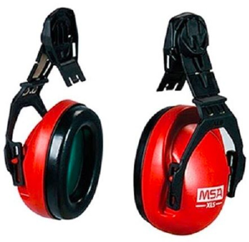 MSA 10061535 Sound Control XLS Cap Mounted Earmuffs, MSA 10061535 Sound Control XLS Hard Hat Attached Earmuff, MSA Sound Control XLS earmuffs, Hearing Protection for MSA Slotted caps, Mounted Earmuff for MSA Slotted Caps, MSA Sound Control Earmuff, MSA NRR 23dBA sound control XLS earmuff, MSA Hearing Protection NRR 23dBA Earmuffs, Sound control earmuff for MSA Safety Helmet, MSA 10061535