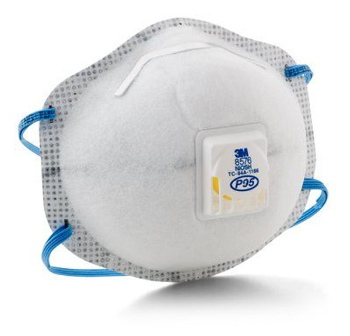 3M 8576 P95 Maintenance Free Respirator, 3M 8576 P95, nuisance acid gas respirator, disposable P95 particulate respirator, nuisance acid gas relief