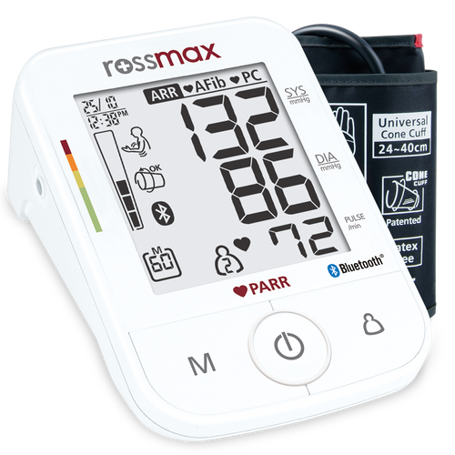 "Rossmax X5 BT ""PARR"" Automatic Blood Pressure Monitor, Rossmax Blood Pressure Monitor, Blood Pressure Monitor, Bluetooth Blood Pressure Monitor, Automatic Blood Pressure Monitor, Rossmax X5BT"