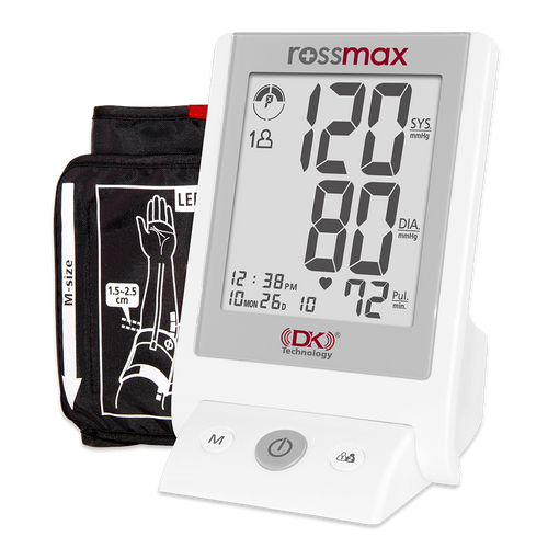"""Rossmax AC701k """"DK"""" Deluxe Automatic Blood Pressure Monitor, Automatic Blood Pressure Monitor, Blood Pressure Monitor, Home Blood Pressure Monitor, Rossmax Blood Pressure Monitor, Blood Pressure Monitor Large LCD, Rossmax AC701k"""