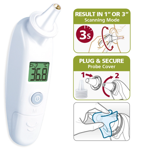 Rossmax RA600 Infrared Ear Thermometer, Ear Thermometer, Infrared Thermometer, Infrared Ear Thermometer, Thermometer, Rossmax RA600