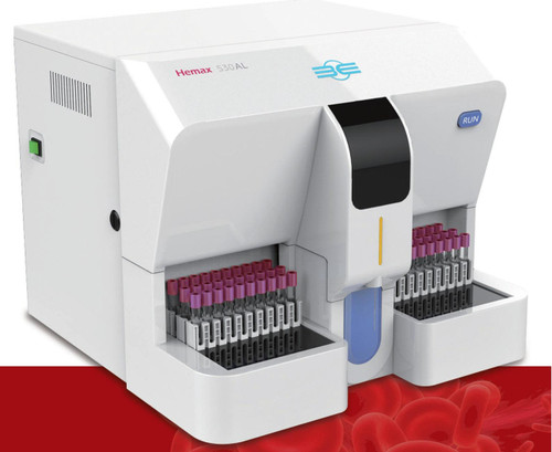 B&E, Hemax 530AL, 530AL, Hemax 530AL, B&E Hemax 530AL HEMATOLOGY ANALYZER, Hemax 530AL HEMATOLOGY ANALYZER, HEMATOLOGY ANALYZER