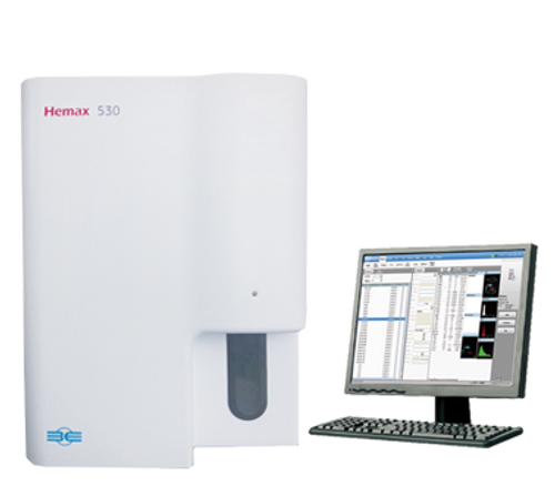 B&E, Hemax, B&E Hemax 530, Hemax 530, B&E Hemax 530 HEMATOLOGY ANALYZER, HEMATOLOGY ANALYZER, ANALYZER, HEMATOLOGY