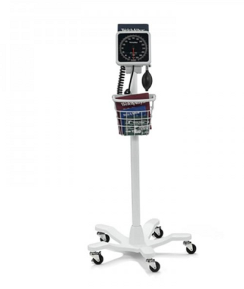 Welch Allyn 767 Mobile Aneroid with Adult Cuff, Mobile Aneroid, Blood Pressure Aneroid, Mobile Blood Pressure Aneroid, Welch Allyn 767 Mobile