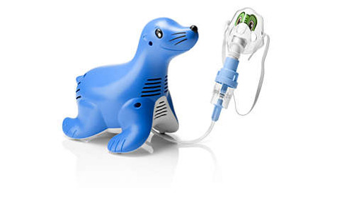 Philips Sami The Seal Compressor Nebulizer System, Philips Sami The Seal, Sami the seal, compressor nebulizer system, philips nebulizer system, nebulizer system, philips compressor nebulizer system,  nebulizer for children, kids nebulizer, breathing aid, respiratory care