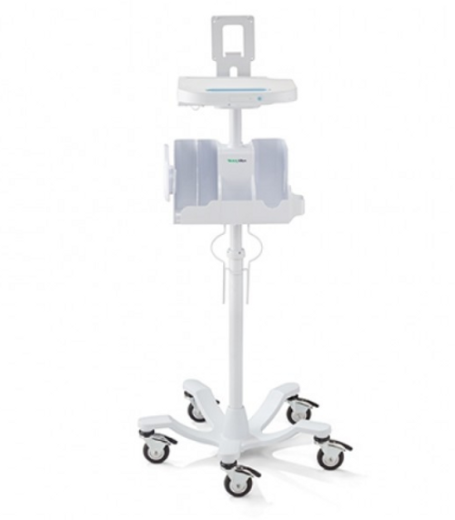Welch Allyn Connex Spot Monitor Accessory Power Management Stand, Medical Monitor Stand, Connex Spot Monitor Accessory