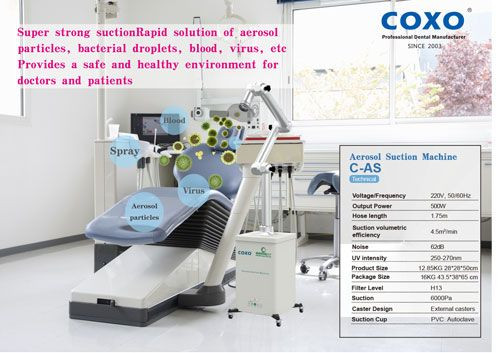 AR Dental COXO Aerosol Suction Machine Single, ar dental coxo, aerosol suction machine, ar dental aerosol suction machine single, dental equipment, suction machine single, coxo suction machine, coxo aerosol suction machine, Aerosol Suction Machine Single