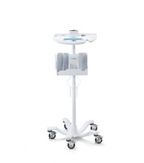 Welch Allyn Accessory Cable Management Mobile Stand for Connex Vital Signs Monitor 6000 Series; with Storage Bin, Vital Sign Monitor Stand, Vital Sign Storage Bin, Welch Allyn Vital Sign Monitor Accessories