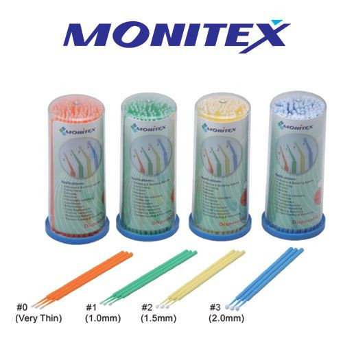 AR Dental Monitex Disposable Micro-brush Applicator, disposable micro-brush, AR Dental Monitex Disposable Micro-brush, Monitex Disposable Micro-brush Applicator, Micro-brush Applicator, isposable Micro-brush Applicator, dental materials, ar dental micro-brush applicator