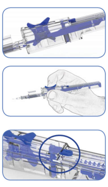 Medicel Ergoject One-Handed Screw Injection System, medicel ergoject, medicel one-handed screw injector, one-handed screw injector, one-handed screw injection system, lens injection system, top-loaded ergoject, back-loaded ergoject, medicel ergoject one-handed, Ergoject One-Handed Screw Injection System