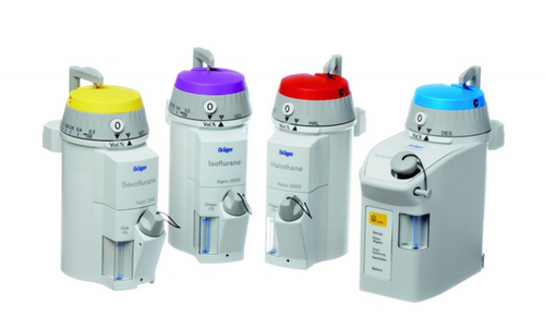 Dräger Vapor 2000, Dräger Vapor, Vapor 2000, Dräger Vaporizer, Vaporizer, Anaesthetic Workstation Accessories
