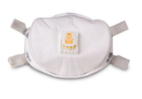 3M 8233 N100 Maintenance Free Respirator, N100 particulate respirator, N100 Mask, N100 respirator, N100 respirator cartridge, valved respirator mask