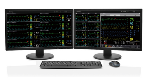 Mindray Benevision Central Monitoring System, Mindray Central Monitoring System, Mindray Monitoring Software, Mindray Software, Central Monitoring Software
