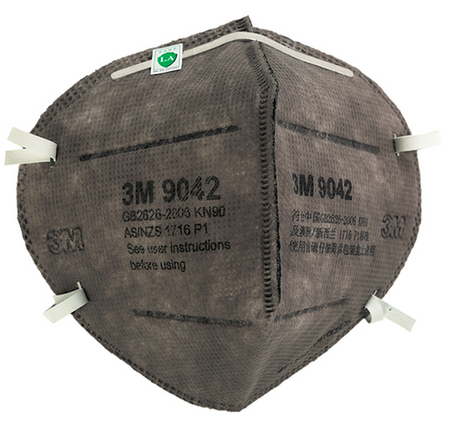 3M 9042 dust/mist respirator, 3M disposable dust mist respirator, health & safety mask, health & safety respirator, 3M vapor relief respirator, 3M particulate respirator, 3M 9042, 3M particulate mask