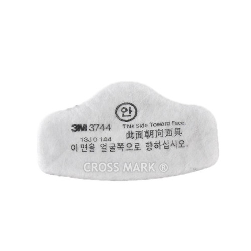 3M 3744 Particulate Filter with Carbon layer, 3M 3744, 3M dustproof filter