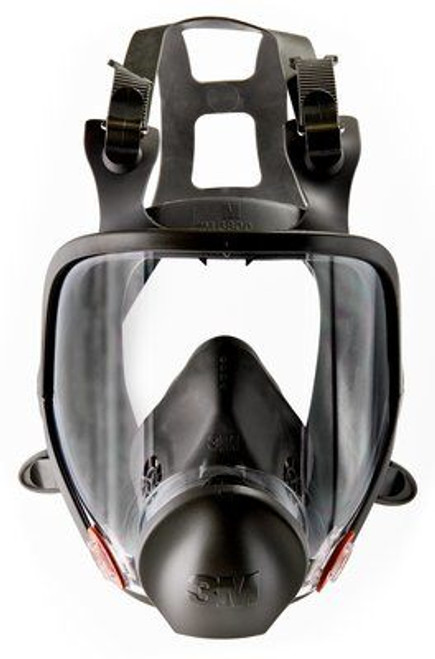 3M 6800 full face double respirator, full face mask, full face respirator mask, full facepiece respirator 6000 series, light weight comfort respirator, safety mask, workplace safety respirator