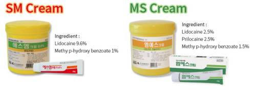 Grand Aespio SM/MS Cream, Grand Aespio Topical Anesthetic Cream, Topical Anesthetic Cream, Grand Aespio Anesthetic Cream, Anesthetic Cream
