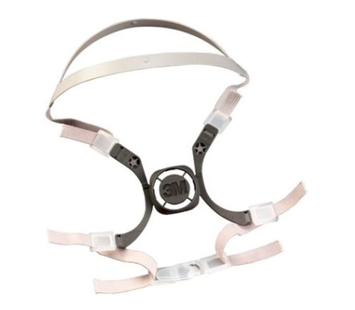 3M 6281 Replacement Strap for Half Face Respirator,  3M Head Harness Assembly 6281, replacement strap for 3M half facepiece 6000 series, 3M Head Harness 6281, 3M 6281, respiratory protection replacement straps