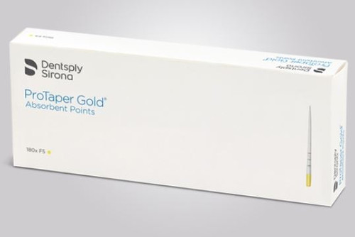 Dentsply Sirona ProTaper Gold Absorbent Paper Points, Dentsply Sirona ProTaper Gold, ProTaper Gold Absorbent Paper Points