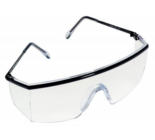 3M 1710AF Stingray Safety Specs, 3M safety eyewear, eyewear protection, 3M protective eyewear, 3M clear lens safety specs, clear lens protective glasses, stylish safety glasses, lightweight UV protection safety eyewear, protective safety glass, 3M 1710AF