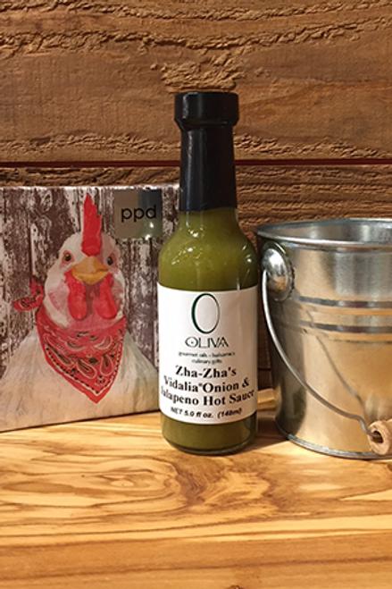Zha-Zha's Vidalia Onion & Jalepeno Hot Sauce