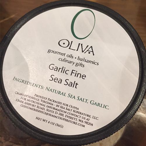Garlic Fine Sea Salt
