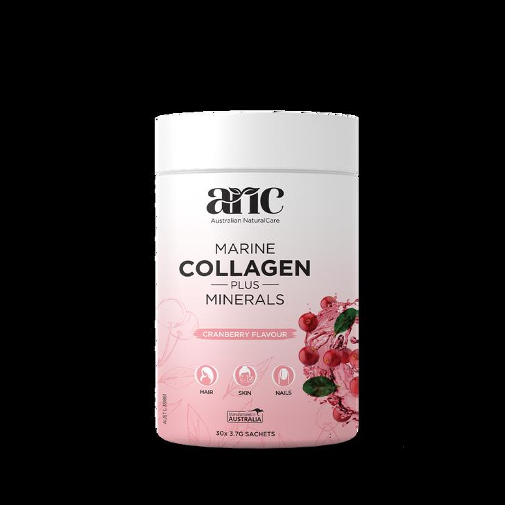 Marine Collagen Plus Minerals (Cranberry Flavour)