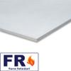 """White Flame Retardant Foamcore 4'x8' x 3/16"""""""