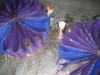 Javits Flower with Glitter- Flame Retardant
