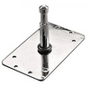 """Manfrotto 3"""" Baby Plate: Multi Mount Holes"""