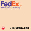 "(ECONOMIC SHIPPING) SETPAPER - CREAM 48"" x 36' (1.3 x 11m)"