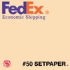 "(ECONOMIC SHIPPING) SETPAPER - EGGSHELL 48"" x 36' (1.3 x 11m)"
