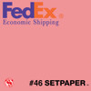 "(ECONOMIC SHIPPING) SETPAPER - PINK 48"" x 36' (1.2 x 11m)"