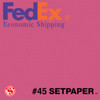 "(ECONOMIC SHIPPING) SETPAPER - ROSE 48"" x 36' (1.3 x 11m)"
