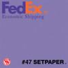 "(ECONOMIC SHIPPING)  SETPAPER - LAVENDER 48"" x 36' (1.3 x 11m)"