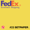 "(ECONOMIC SHIPPING) SETPAPER - CANARY 48"" x 36'  (1.3 x 11m)"