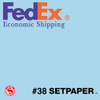 "(ECONOMIC SHIPPING) SETPAPER - SKY BLUE 48"" x 36' (1.3 x 11m)"