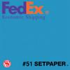"(ECONOMIC SHIPPING) SETPAPER - REGAL BLUE 48"" x 36' (1.3 x 11m)"
