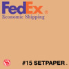 "(ECONOMIC SHIPPING) SETPAPER - TAN 48"" x 36 (1.3 x 11m)"