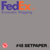 "(ECONOMIC SHIPPING) SETPAPER - DOVE GREY 48"" x 36'  (1.3 x 11m)"