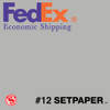 "(ECONOMIC SHIPPING) SETPAPER - SMOKE GREY 48"" x 36' (1.3 x 11m)"