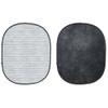 Collapsible Background  White Brick / Dark Grey 5'x7'