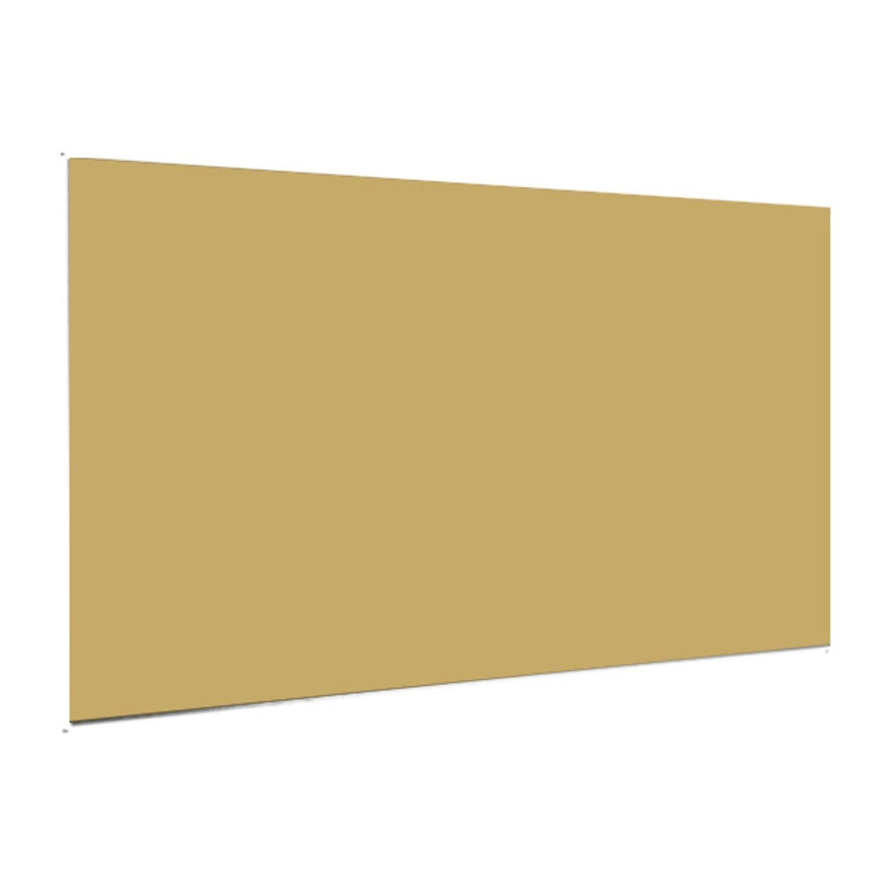 "Showcard - Matte Gold - 28"" x 44"""
