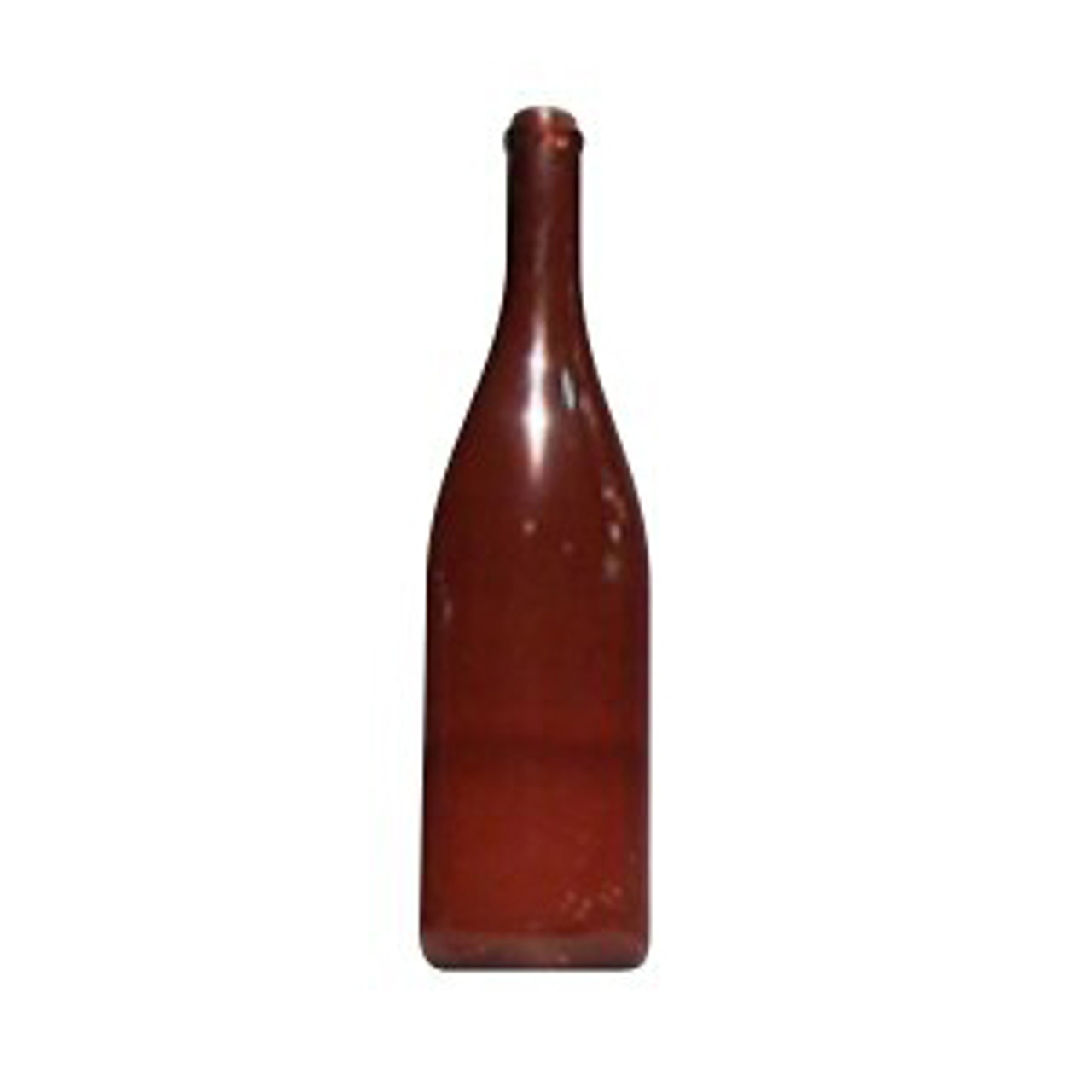 Wine Bottle - Brown Long Neck