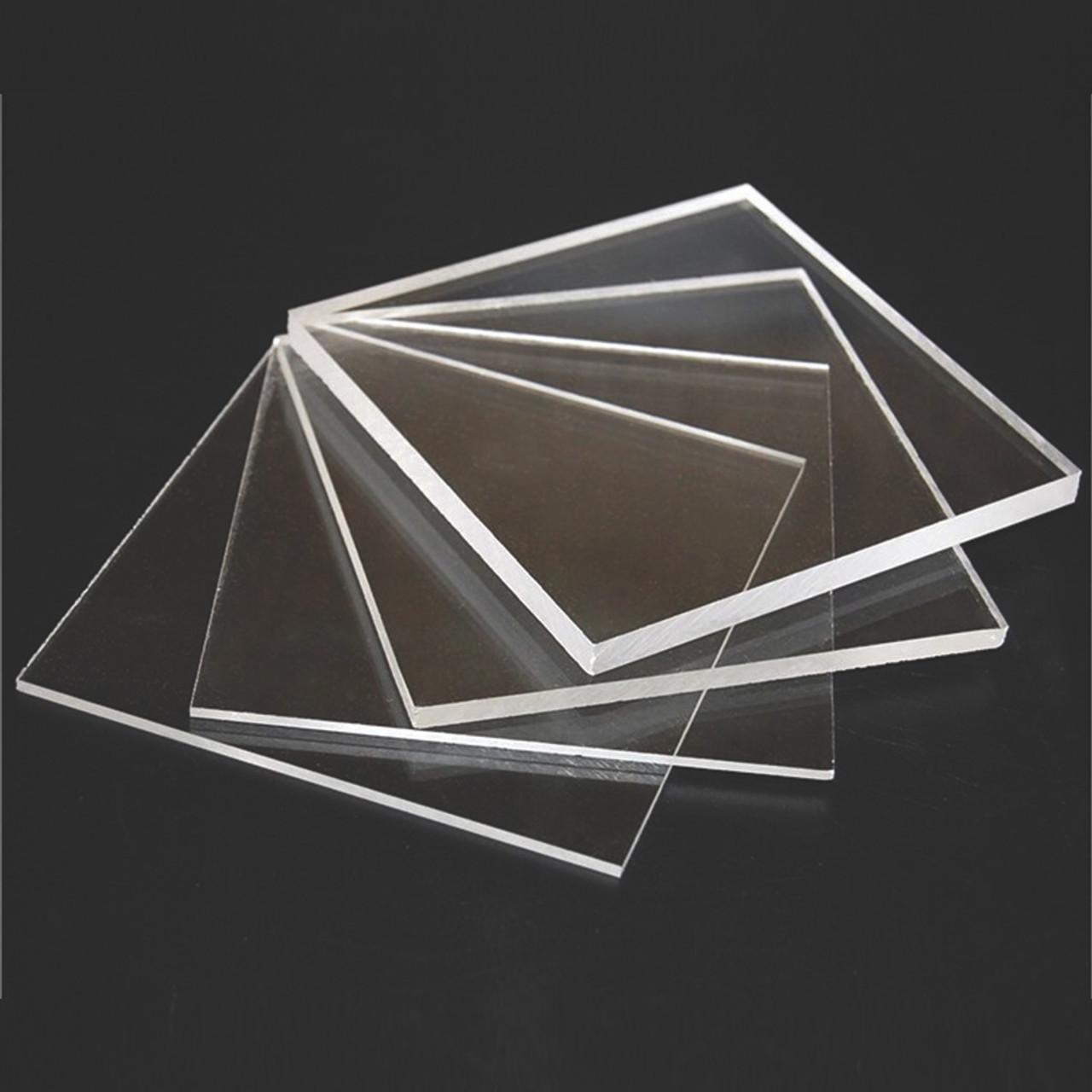 "1//2/"" x 6/"" x 6/"" Clear Plastic Acrylic Plexiglass"
