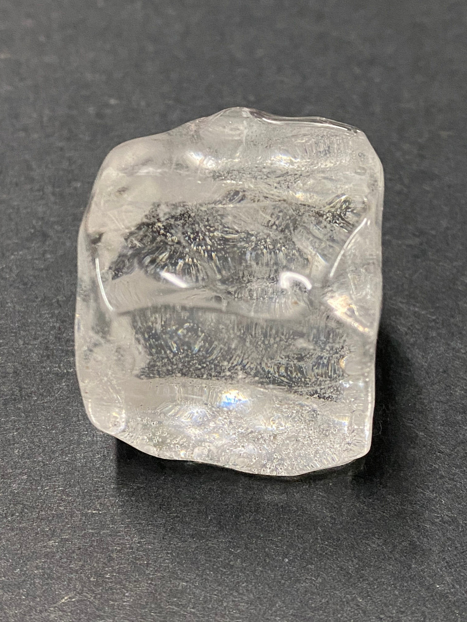 """CUSTOM HAND CASTED ICE CUBES WITH BUBBLE  1 1/4"""""""