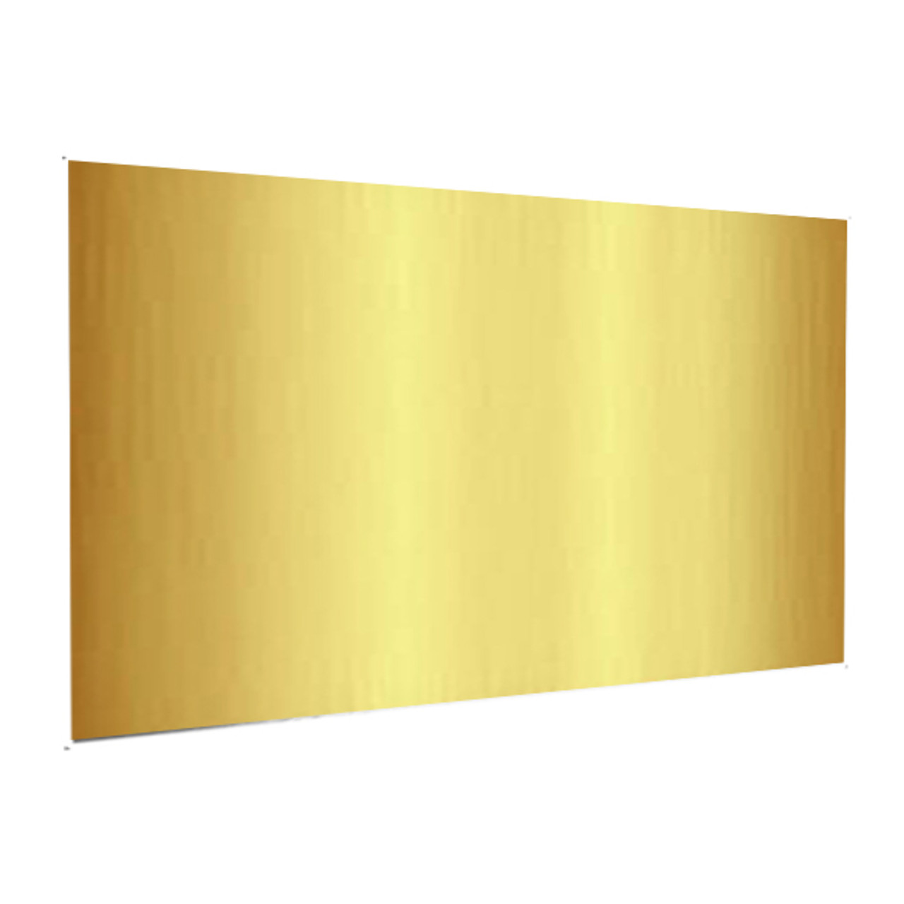"Showcard - Glossy Gold - 28"" x 44"""