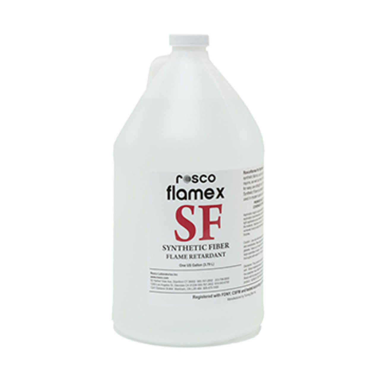Rosco Flamex - Synthetic Fiber Fabrics 1Gal