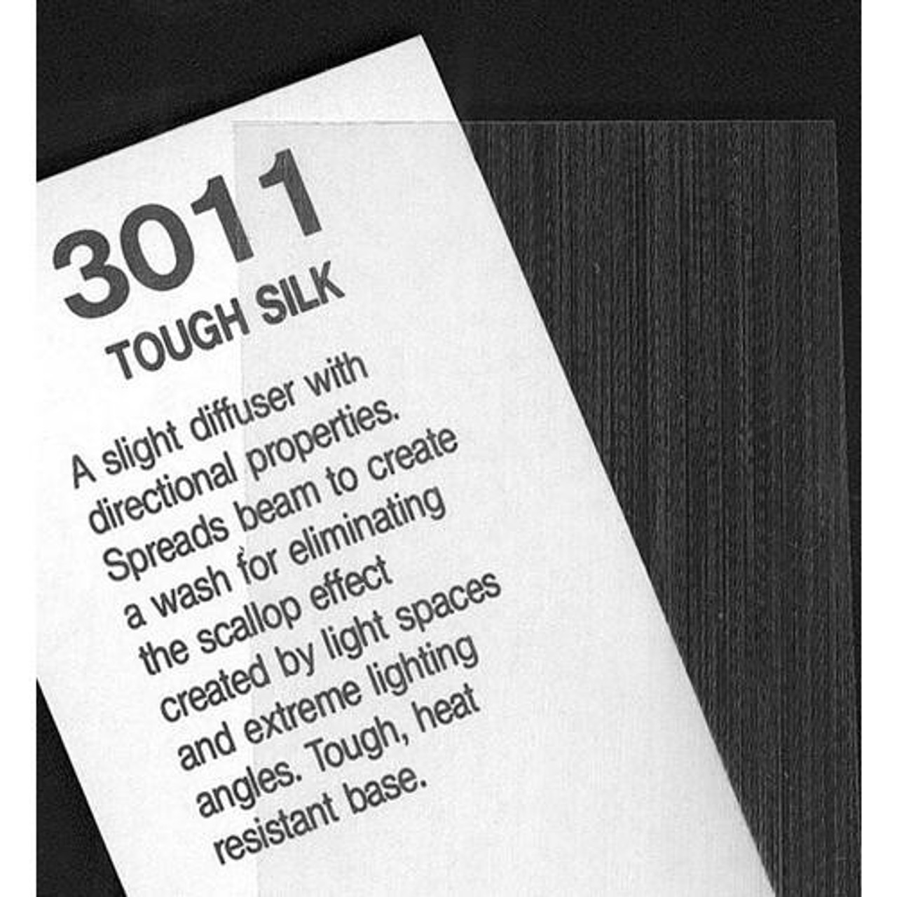 "#3011 Rosco Cinegel Tough Silk, 20x24"", Gels"